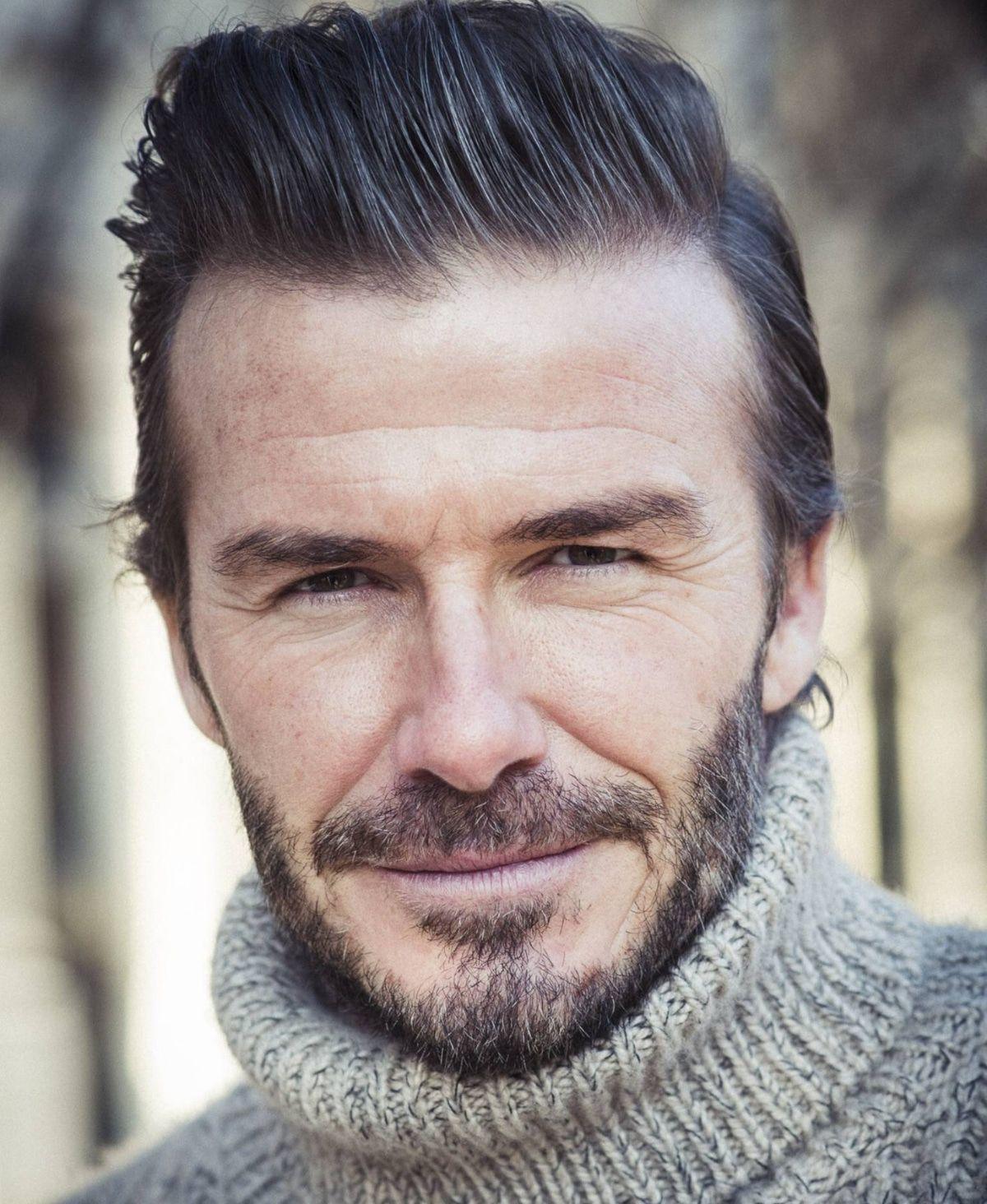 War David Beckham beim Beauty Doc?