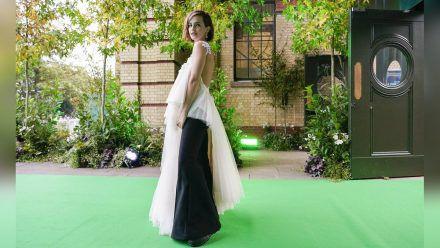 Emma Watson kam in einem Kleid aus recyceltem Stoff zum Earthshot Prize. (ncz/spot)