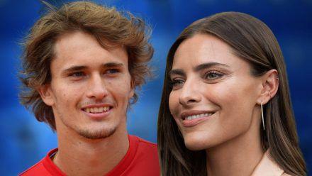 Sophia Thomalla und Alexander Zverev geben ein Traumpaar ab. (hub/spot)