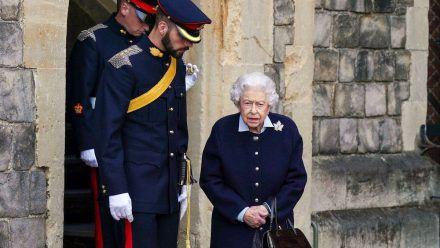Die Queen bei einem Auftritt in Windsor. (hub/spot)