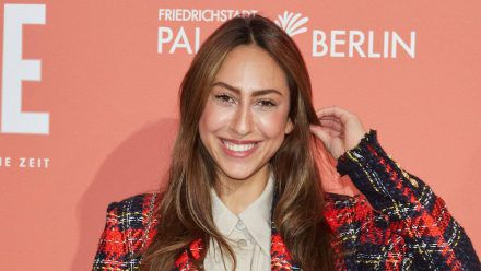 """Melissa Khalaj, hier auf einem Event in Berlin, wird """"All Togehter Now"""" moderieren. (wue/spot)"""