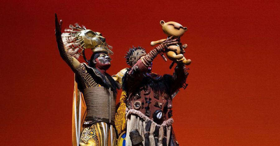 Schauspieler bei einer Aufführung des Musicals «König der Löwen» im September in Madrid.