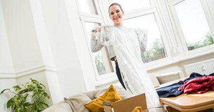 Mode zu mieten, lohnt sich besonders bei Kleidungsstücken, die man nur zu wenigen Anlässen trägt - wie zum Beispiel ein Hochzeitskleid.