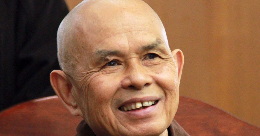 Der Zen-Meister und Friedensaktivist Thich Nhat Hanh(2013).