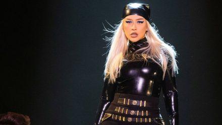 Comeback: Christina Aguilera quält sich in Form