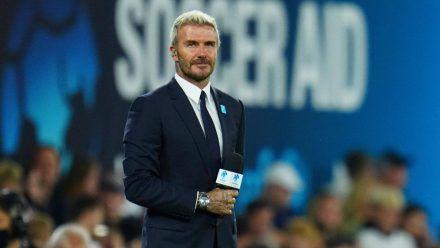 Unfassbares Eigentor! David Beckham wird das Gesicht der Fußball-WM in Katar