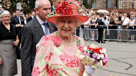 Die Queen ein Oldie? Nein, auch mit 95 Jahren nicht. (mia/spot)