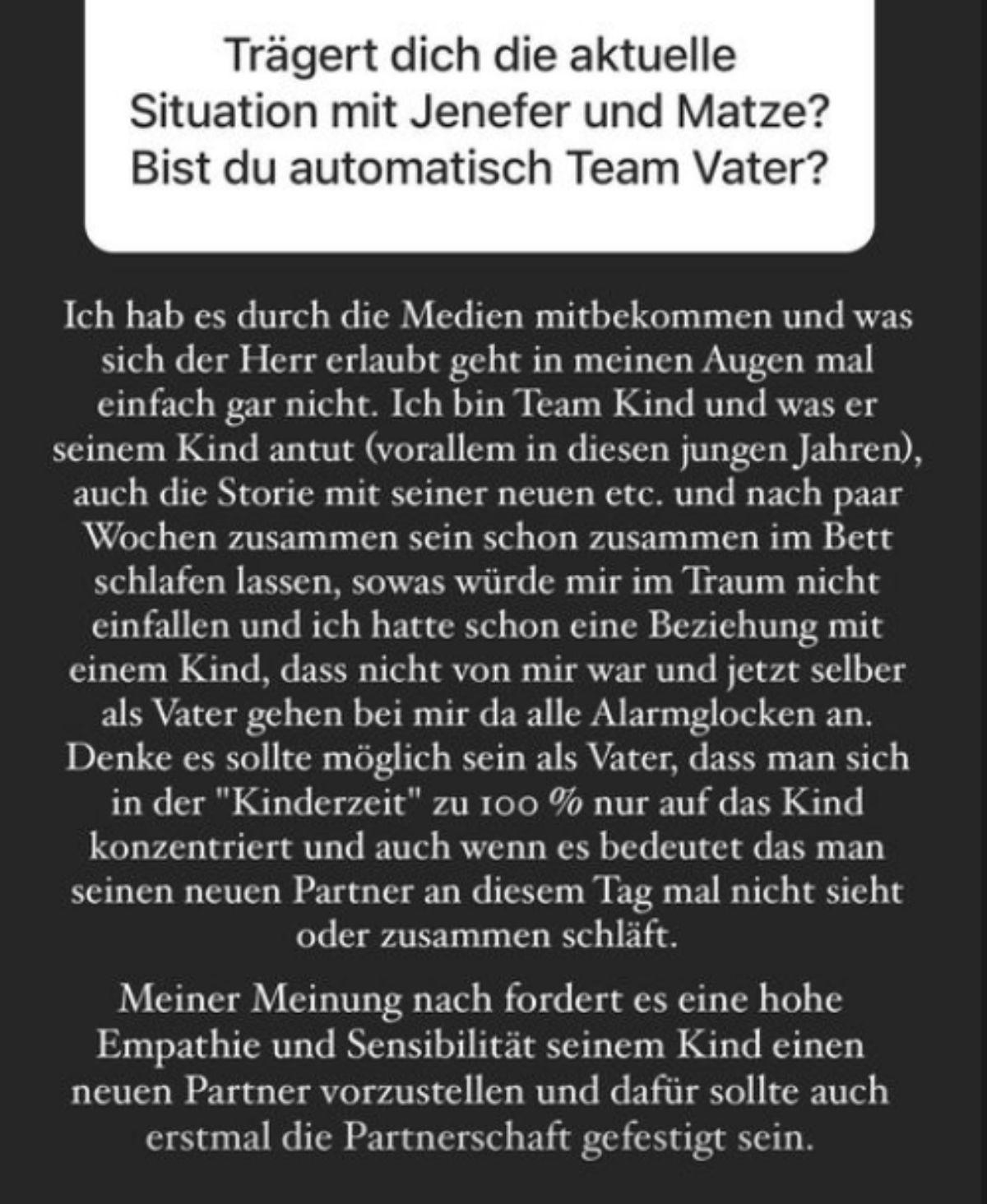 Jenefers Riilis Ex Matthias Höhn ist stinksauer auf Chris Broy
