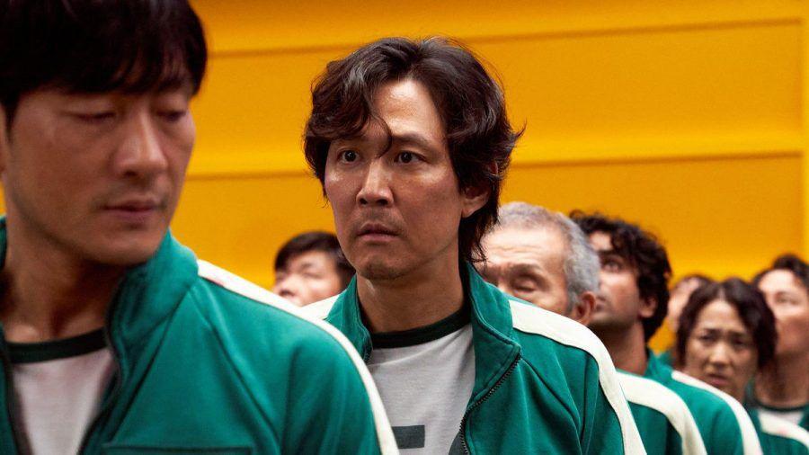 "Gi-hun (Lee Jung-jae) will in ""Squid Game"" seinem Schuldenberg entfliehen. (aha/spot)"