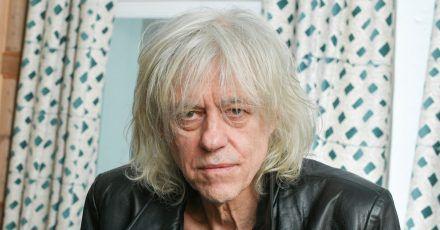 Der irische Rockmusiker Bob Geldof wird  70 Jahre alt.