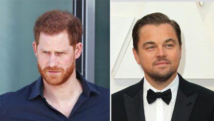 Prinz Harry (l.) und Leonardo DiCaprio machen sich gemeinsam für Afrika stark. (dr/spot)