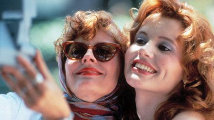 "Susan Sarandon (l.) und Geena Davis in ""Thelma & Louise"". (obr/spot)"