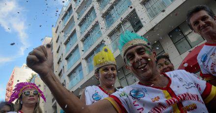 In nächsten Jahr will man in Rio wieder ausgelassen Karneval feiern.