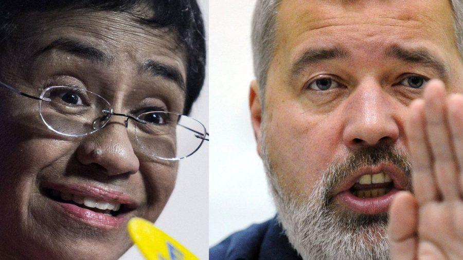 Die Journalisten Maria Ressa und Dmitrij Muratow erhalten den Friedensnobelpreis. (amw/spot)