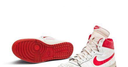 Ex-Basketballprofi Michael Jordan trug die Schuhe in seiner ersten NBA-Saison.
