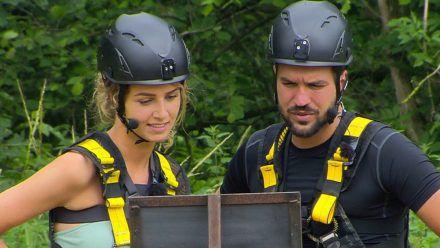 Samira und Yasin Cilingir stellen sich der Herausforderung. (smi/spot)