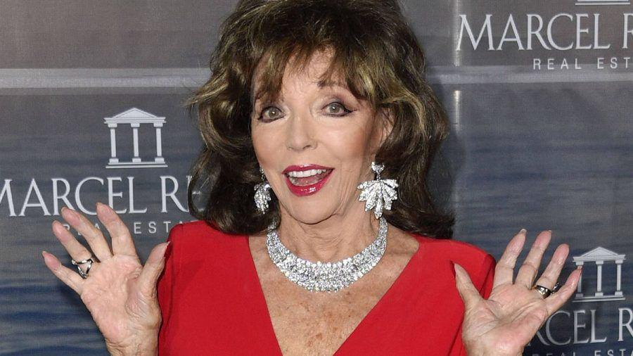 Joan Collins ist schwer genervt von den Kardashians