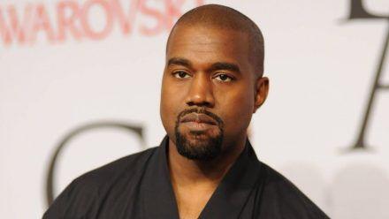 Kanye West auf dem roten Teppich