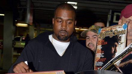 Kanye West verpasst seinen Flug in Berlin und geht shoppen