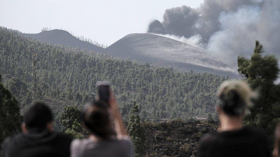 Auch das noch: Neuer Schlot am Vulkan auf La Palma