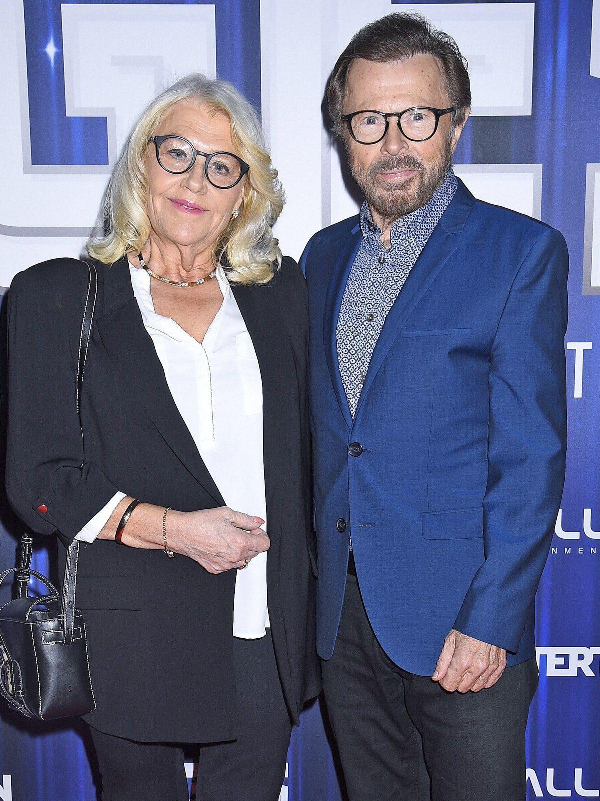 Lena and Bjorn Ulvaeus