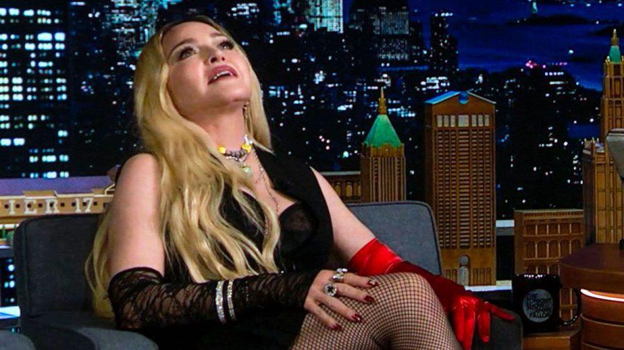 Die Königin am 8. Oktober in der TV-Show von Jimmy Kimmel.