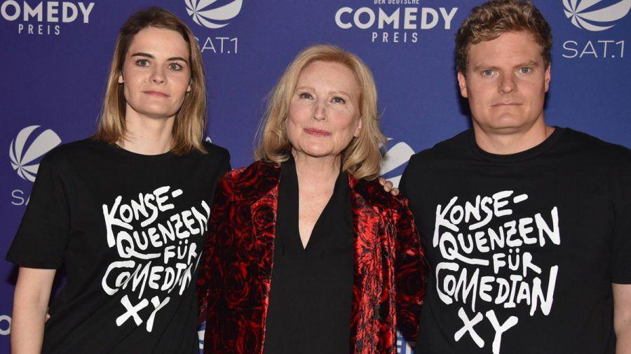 "Maren Kroymann: Furiose Rede gegen Luke Mockridge beim ""Comedypreis"""