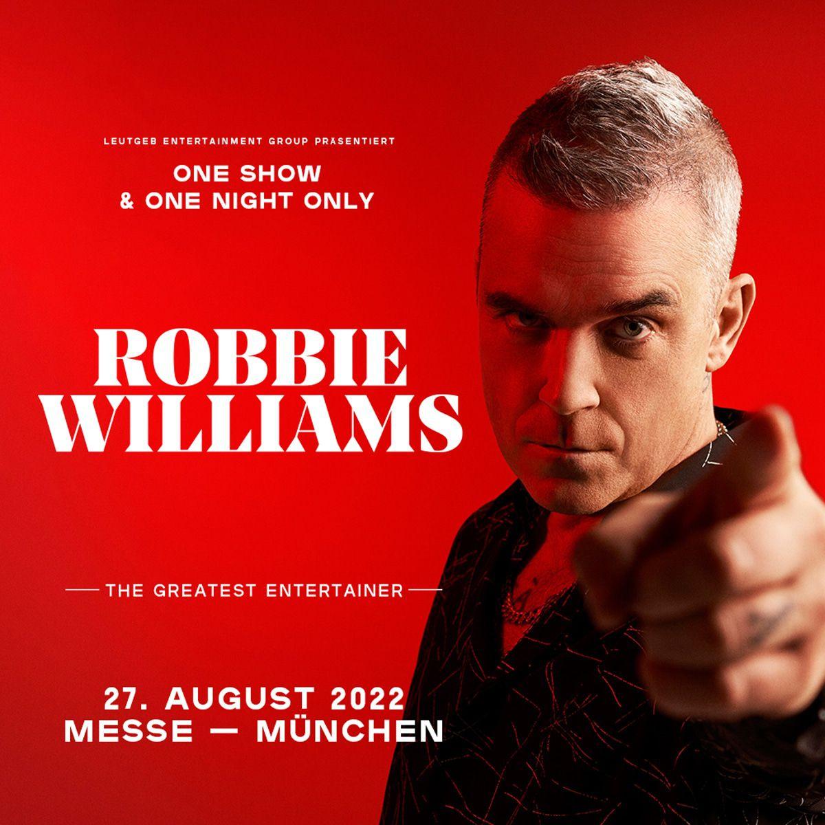 Nach Helene Fischer kommt Robbie Williams mit Superkonzert in München