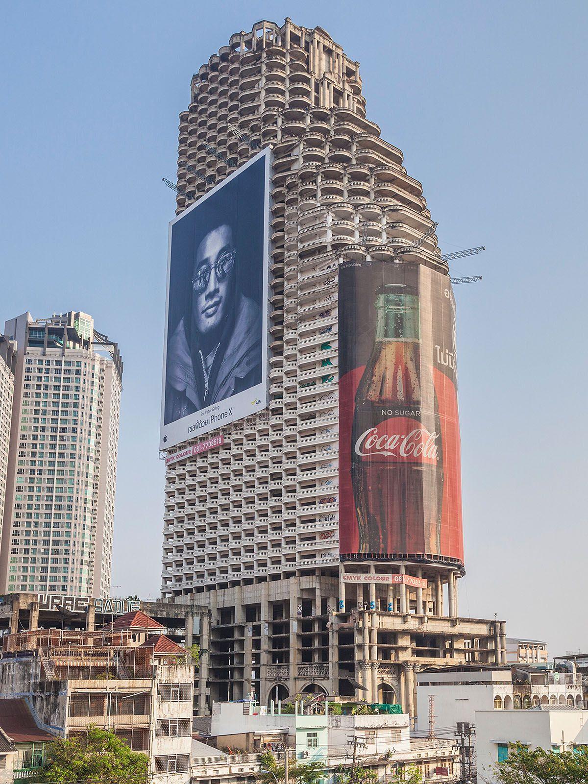 Lost Place: Der 185 Meter hohe Geisterturm von Bangkok